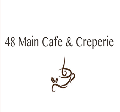 48 Main Cafe & Creperie logo