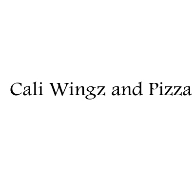 Cali Wingz and Pizza logo
