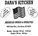 Dana\'s Kitchen Restaurant Coupons